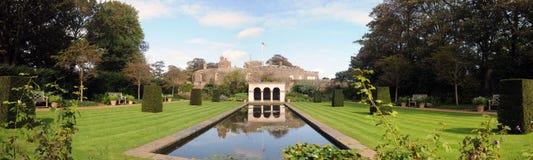 城堡横向 免版税库存图片