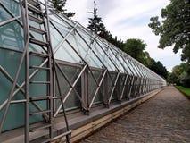 城堡橘园布拉格 免版税库存照片