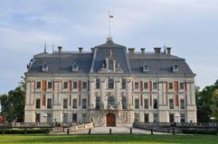 城堡欧洲波兰pszczyna 免版税库存照片