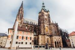 城堡欧洲老照片布拉格河旅行vltava 图库摄影