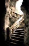城堡步骤 库存图片