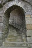 城堡步 库存图片