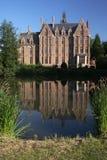 城堡池塘 库存照片