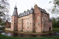 城堡池塘 库存图片