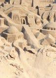 城堡沙子 免版税库存照片