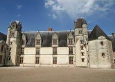 城堡法国中世纪 免版税库存图片