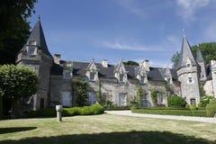 城堡法语 免版税库存照片