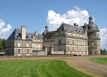 城堡法语 库存照片