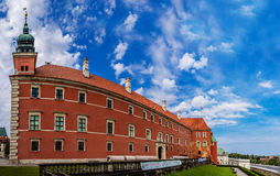城堡波兰皇家华沙 免版税图库摄影