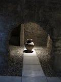 城堡浴伊斯兰教国王的职权花瓶 免版税图库摄影