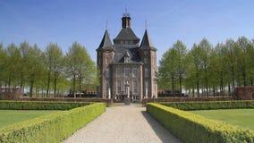 城堡海姆斯泰德在荷兰 影视素材