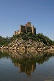 城堡海岛 免版税库存照片