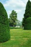 城堡温室lednice公园 免版税图库摄影