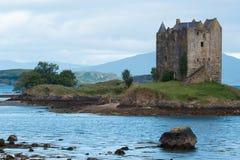 城堡潜随猎物者苏格兰英国欧洲 免版税库存照片