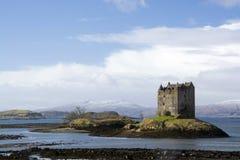 城堡潜随猎物者, Scottland 免版税库存图片