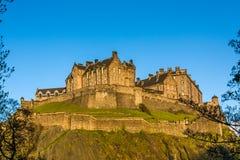 城堡爱丁堡王国苏格兰团结了 免版税图库摄影
