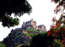 城堡爱丁堡王国苏格兰团结了 免版税库存照片