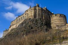 城堡爱丁堡王国苏格兰团结了 库存照片