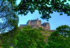 城堡爱丁堡王国苏格兰团结了 免版税库存图片