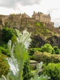 城堡爱丁堡苏格兰英国 库存图片