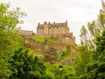 城堡爱丁堡苏格兰英国 库存照片