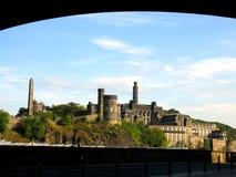 城堡爱丁堡苏格兰 图库摄影
