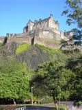 城堡爱丁堡 免版税图库摄影
