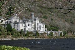 城堡爱尔兰人湖边 免版税库存照片