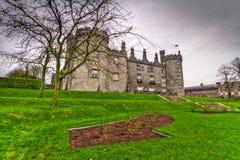 城堡爱尔兰基尔肯尼 库存照片
