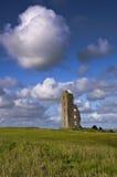 城堡爱尔兰老废墟 库存照片