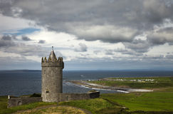 城堡爱尔兰语 库存照片