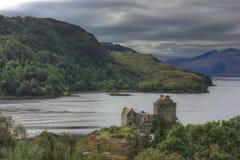 城堡爱莲・朵娜,苏格兰,英国 免版税库存图片