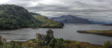 城堡爱莲・朵娜,苏格兰,英国 库存图片