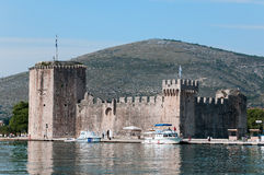 城堡特罗吉尔 免版税库存照片