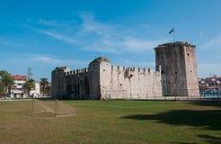 城堡特罗吉尔 免版税库存图片