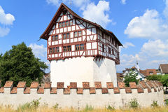 城堡瑞士zug 库存照片