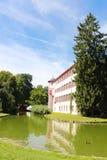 城堡用水 库存图片