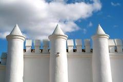 城堡白色 库存图片