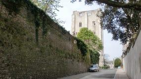 城堡的主楼在法国 免版税图库摄影