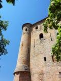 城堡的主楼 免版税库存图片