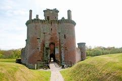 城堡的前面 库存图片