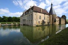 城堡的反射 免版税库存图片