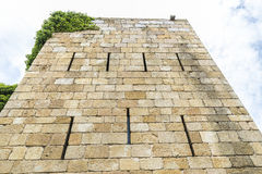 城堡的塔 免版税库存照片