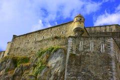 城堡的墙壁 库存照片