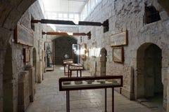 城堡的室 库存照片