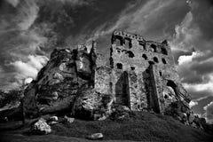 城堡的废墟 图库摄影