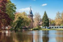 城堡的德哈尔公园是矮子幻想Fai的设置 免版税库存照片