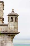 城堡的片段 免版税库存照片