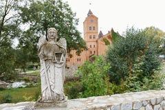 城堡的看法在Radomyshl,乌克兰 库存照片