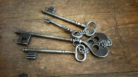 城堡的钥匙 免版税库存图片